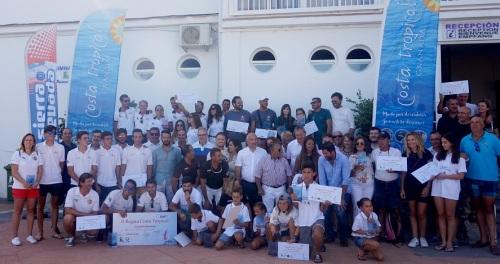 El Ciudad de Melilla, patroneado por José Luis Pérez, campeón absoluto de la II Regata Costa Tropical de Cruceros