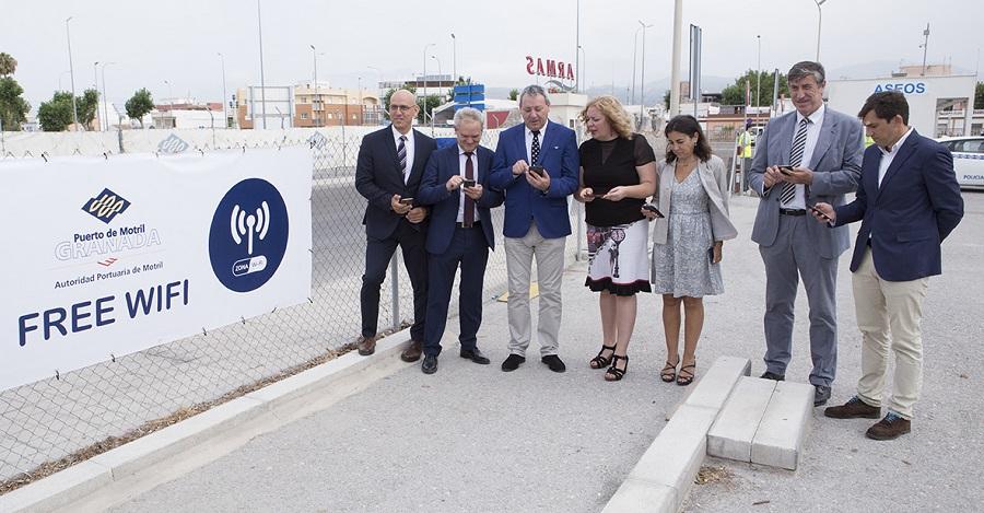 El puerto habilita la mayor zona wifi gratuita de la - El puerto de santa maria granada ...