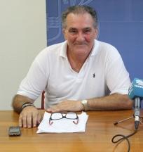 El teniente de alcalde Antonio Escámez