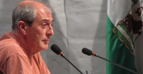 Fermín Tejero, portavoz del Grupo Municipal de IU en el Ayto. de Almuñécar