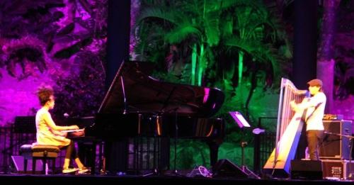 Gran acogida de Hiromi y Edmar Castañeda en 'Jazz en la Costa'