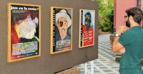 Jazz en la Costa celebra su 30 aniversario con una exposición de la cartelería