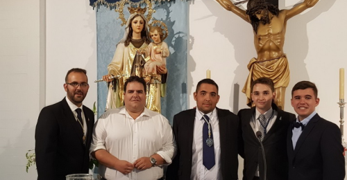 José María Heredia Flores da un emotivo y bello pregón a la Virgen del Carmen
