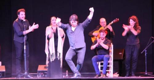 Juan Andrés Maya e Iván Vargas presentaron 'Sacromonte' en el V Ciclo Flamenco 'Ciudad de Almuñécar'