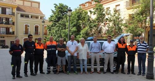 La Agrupación de Protección Civil de Motril renueva su dotación móvil