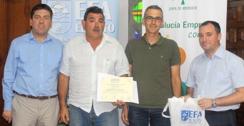 La EFA El Soto reconoce al Ayuntamiento de Motril por su colaboración en las prácticas formativas de sus alumnos