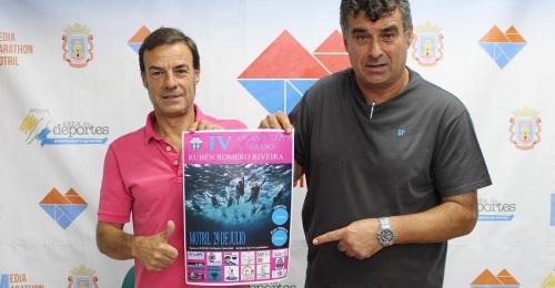 La Travesía a Nado Rubén Romero Riveira llega a su cuarta edición con más de un centenar de participantes