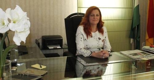 María Eugenia Rufino, alcaldesa de Almuñécar