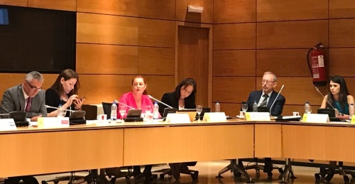 Mª Eugenia Rufino califica de hito histórico para los aytos. el 'Pacto de Estado Contra la Violencia de Género'