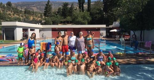 Más de 350 participantes en la campaña municipal de natación de Órgiva 2017