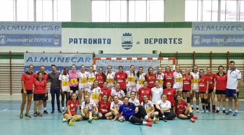 Partido amistoso entre las Guerreras Juveniles y Universidad de Granada