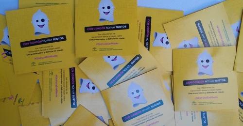 Salobreña acoge la campaña 'Con condón no hay sustos' #DISFRUTASINMIEDO