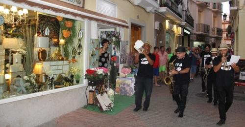 Sábado noche de Shops & Jazz en el centro comercial abierto de Almuñécar