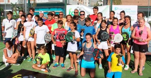 Un total de 240 parejas participaron en el Circuito de Menores Andaluz de Pádel
