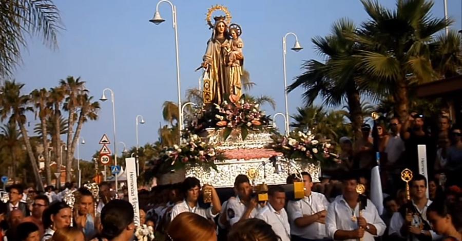 Virgen del Carmen, patrona de Los Marinos