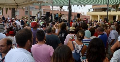 Concierto de José Manuel Soto en Las Explanadas, en Motril