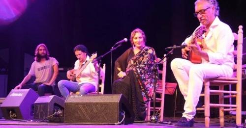 El auditorio del Majuelo se llenó para presenciar el concierto de grandes artistas flamencos por ACOMPALIA