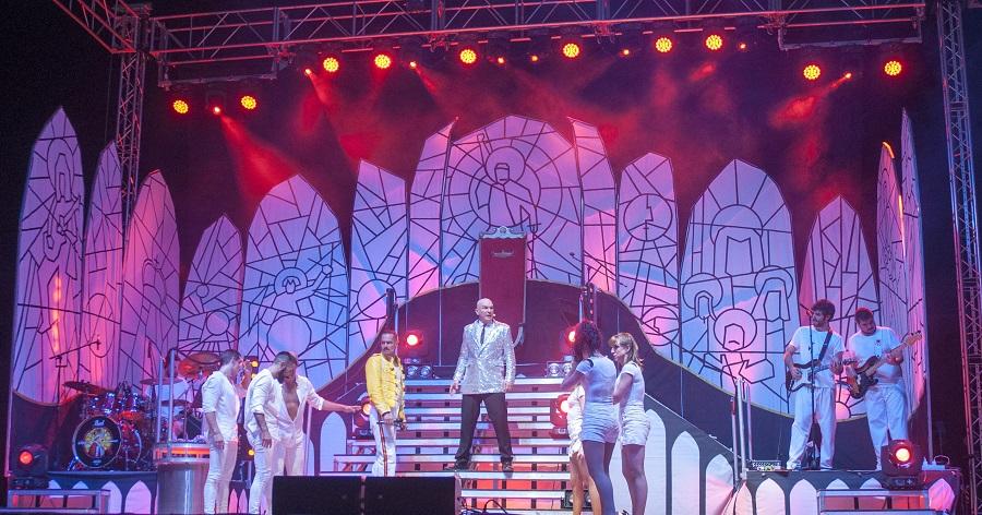 El musical de tributo a Queen y Funk-O-Rama triunfan en Motril
