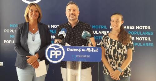 El Partido Popular denuncia la parálisis de las obras que sufre Motril