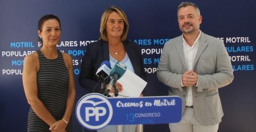 El Partido Popular propone un gran Pacto por el Turismo para Motril