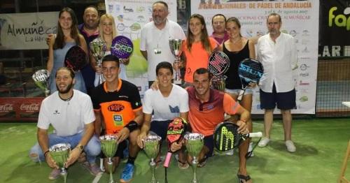 Herrera y Gaspar campeones del XIX Torneo Intl. de Pádel de Almuñécar