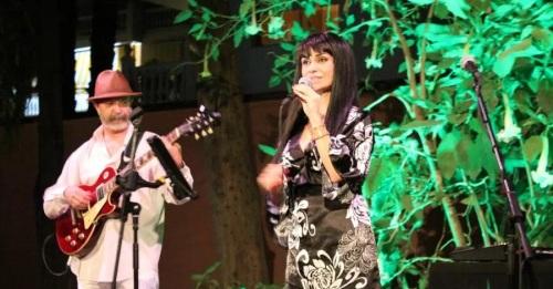 La Najarra acogió un bello concierto de María Romero y Carlos Martín