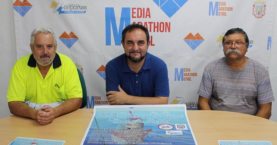La Playa de Poniente acogerá este fin de semana la trigésimo segunda edición del 'Certamen de Pesca Ciudad de Motril_