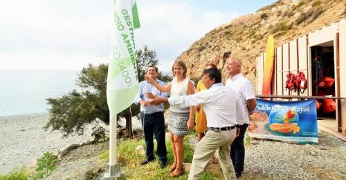 La playa La Rijana logra la bandera verde de gestión medioambiental (2)