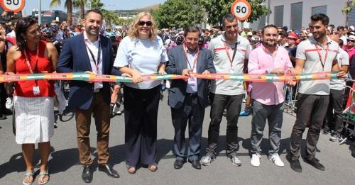 Motril capital del deporte con la salida de la Vuelta Ciclista a España