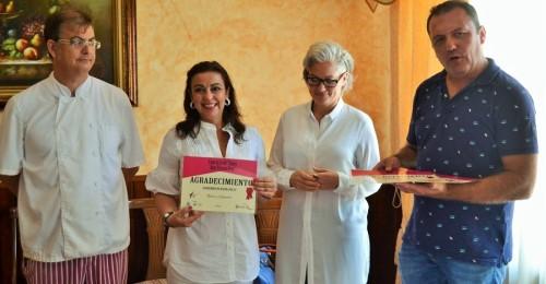 Álvaro García, chef de 'El Zarcillo', ganador del concurso gastronómico de la primera Quisquillá de Motril