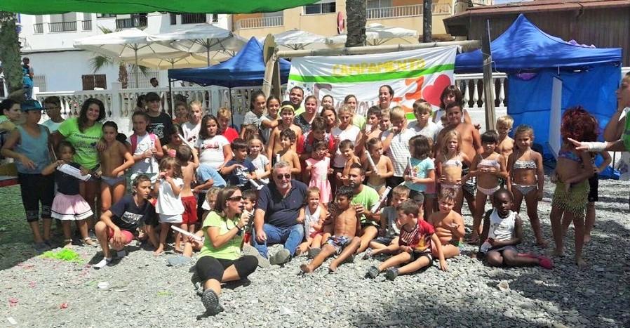 Clausurado el campamento EmociónArte que ha acogido a 130 menores en su primera edición