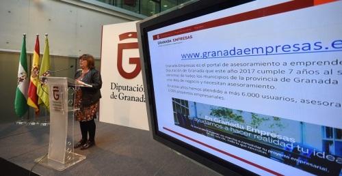 Diputación asesora a un nuevo proyecto empresarial cada día a través de su portal de apoyo a emprendedores