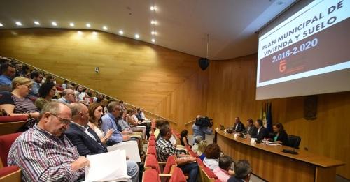 Diputación identifica las necesidades de vivienda de 123 municipios
