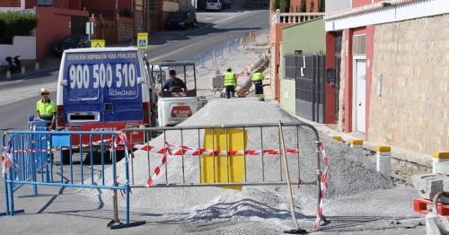 El asfaltado de la Ronda de Poniente comenzará la próxima semana