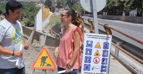 El asfaltado de la Ronda de Poniente obliga a cortar totalmente la carretera hasta el próximo 30 de septiembre