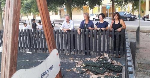 El Partido Popular visita los Álamos y pide mejoras para el barrio