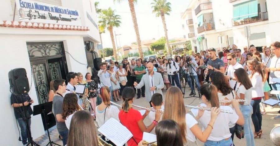 Inauguración de la Escuela de Música de Salobreña