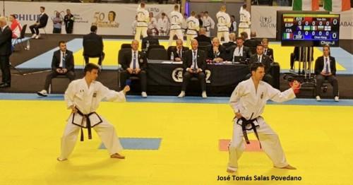 José Tomás Salas Povedano, entrenador del club KGM Motril, rumbo al mundial de taekwon-do ITF 2017