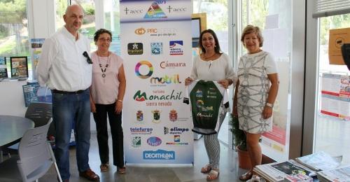 La AECC agradece el apoyo de Motril en el Reto CeroTresmiles