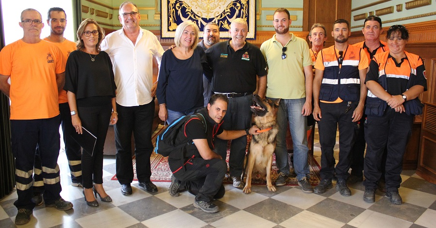 La agrupación local de Protección Civil y la asociación SOS Desaparecidos España firman un acuerdo de colaboración
