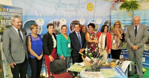 La Costa Tropical se promociona en la Feria de los Pueblos de FERMASA