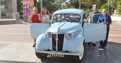 La XVII Concentración de Vehículos Románticos Costa Tropical congregará en Motril a un centenar de coches