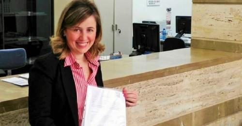 Lola Sánchez, portavoz de la agrupación de Cs Motril (2)