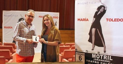 María Toledo traerá en octubre al Teatro Calderón el flamenco más actual