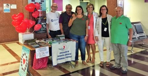 Mesas informativas en los hospitales en el Día Mundial del Corazón