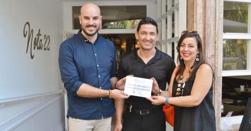 Nota 22 y La Sastrería reciben sus premios como ganadores de la I Ruta de la Tapa de Motril_