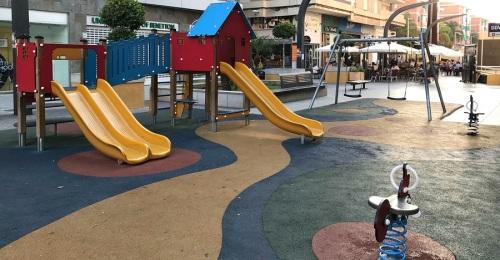 Parque infantil en Motril