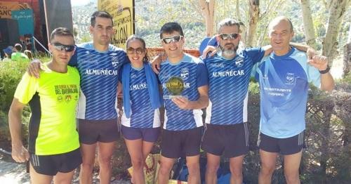 Participación del Club Atletismo Sexitano en la Subida al Quiebrajano