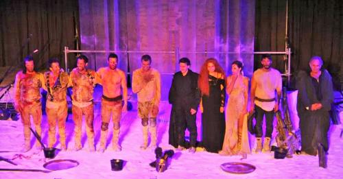 Toni Cantó fue Aquiles en el IX Festival de Teatro Grecolatino de Almuñécar