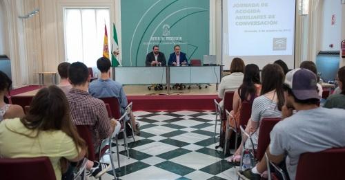 124 jóvenes de 10 nacionalidades reforzarán las destrezas orales en los centros bilingües de la provincia